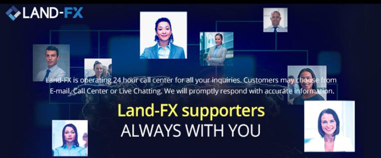 LAND-FXの日本人サポートはかなり充実している