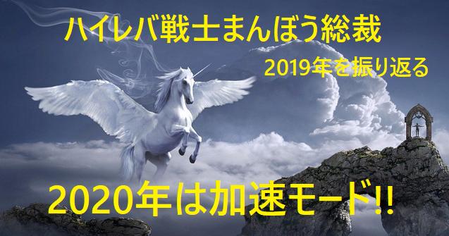 ハイレバ戦士まんぼう総裁2019年を振り返る