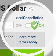 easyMarkets(イージーマーケット)のdealCancellationは1時間以内の取引をなかったことにできます