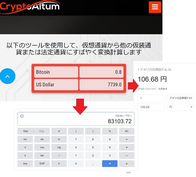 CryptoAltum(クリプトアルタム)の初回入金ボーナス上限
