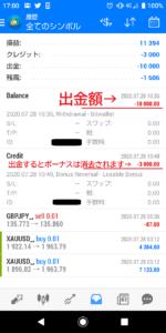 GKFX Primeからbitwalletに出金する方法