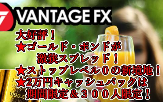 VANTAGEFX第2弾キャンペーン
